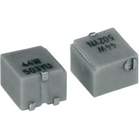 SMD trimr cermet TT Electro, ovl. boční, HC04 44W, 2800723055, 1 MΩ, 0,25 W, ± 20 %