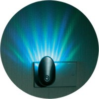 Noční LED světlo měnicí barvy