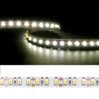 LED pásek 3528 120LED/m IP20 9.6W/m bílá teplá (1ks=2,5cm)