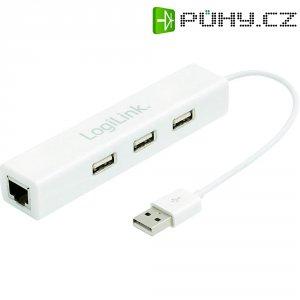 Síťový adaptér Logilink USB 2.0, 3-portový