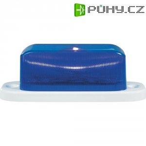 LED stroboskop, 7,62 Hz a 24,75 Hz, modrá