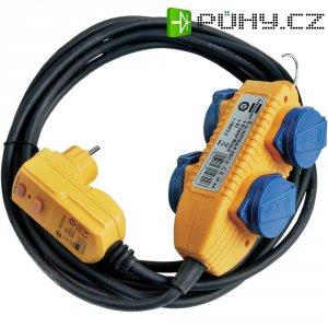 Bezpečnostní prodlužka Brennenstuhl PRCD-2P, 1168720, IP44, žlutá/modrá/černá
