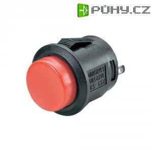 Tlačítko SCI, R13-523A-05RT, 250 V/AC, 1,5 A, vyp./(zap.), červená