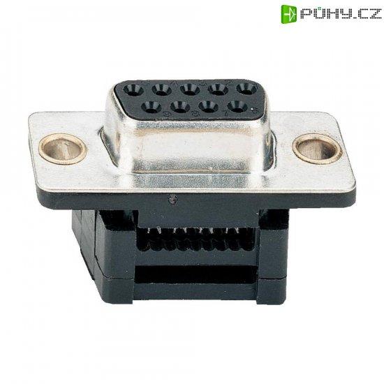 D-SUB pro plochý kabel Assmann A-DFF 09LPIII/Z, 9 pin, 180 ° - Kliknutím na obrázek zavřete