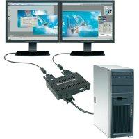 Adaptér pro rozšíření pracovní Matrox DualHead2Go, VGA na 2 x DVI-I, USB napájen