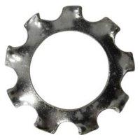 Podložky ozubené TOOLCRAFT 815110, vnitřní Ø: 8.4 mm, 100 ks