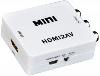 Redukce HDMI konektor / AV + audio
