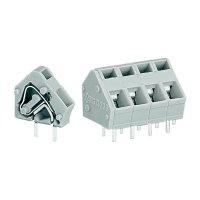 Pájecí svorkovnice série 236 WAGO 236-501, 400 V/AC, 0,08 - 2,5 mm², 7,5 / 7,62 mm, šedá