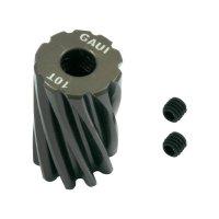 Motorový pastorek GAUI, 10 zubů (217420)