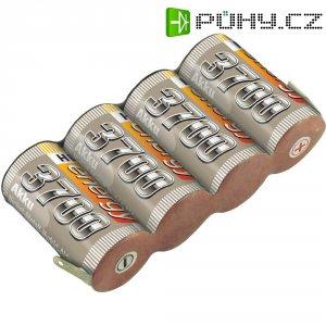 Akupack přijímače Conrad Energy Sub-C, 4,8 V, 3700 mAh, Side, s páj. hroty