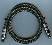 Kabel optický TOSLINK-TOSLINK 8mm/80cm DOPRODEJ