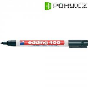 Permanentní popisovač Edding 400 černá oblý 1 mm (max) 1 ks