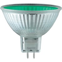 Reflektorová žárovka Sygonix, GU5.3, 20 W, zelená