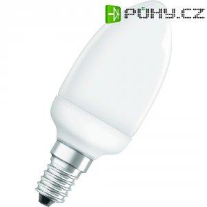 Úsporná žárovka svíčka Osram Superstar E14, 6 W, teplá bílá