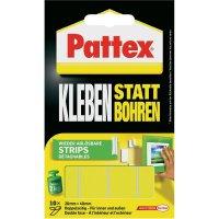 Lepicí montážní proužky Pattex (d x š) 40 mm x 20 mm, 10 ks