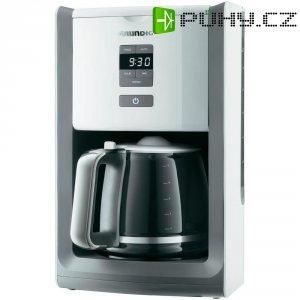 Kávovar Grundig KM 7280 w, 1000 W, bílá/světle šedá
