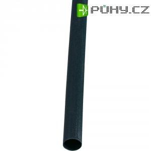 Smršťovací bužírka 1,6/0,8 mm, černá