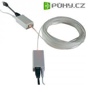 POF Starter Kit, převodníky ethetnet ⇒ optika, vč. 20 m optického kabelu