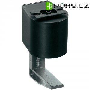 Montážní úchytka Schulte Elektrotechnik, 99090212, 8-40 mm, černá