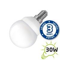 LED žárovka B50, E14/230V, 4W (Pc) - bílá studená (záruka 3 roky)