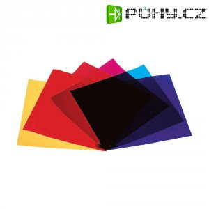 Sada barevných filtrů pro žárovky PAR 64, 6 ks