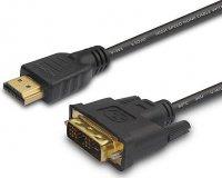 Kabel DVI 18+1 - HDMI(A) 1,5m Savio CL-10