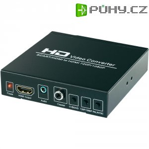 Konvertor ze SCART na HDMI SpeaKa Professional SP-HD/SC-01 SP-3957084