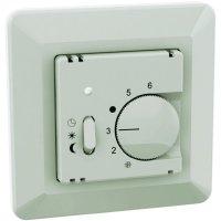 Pokojový termostat se spínačem Ehmann 6060c0400, 5 až 30 °C, bílá