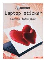 Samolepící dekorace na notebook Srdce