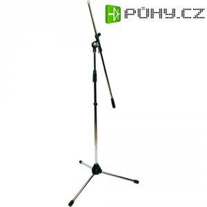 Krátký stativ na mikrofon Paccs, niklová