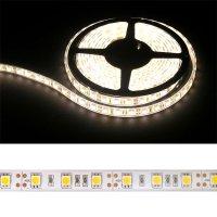 LED pásek 5050 60LED/m IP68 14.4W/m bílá teplá (1ks=cívka 5m) voděodolný