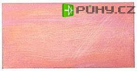 Cuprextit 1245x1095x1,5mm, jednostraný, materiál FR4 35um