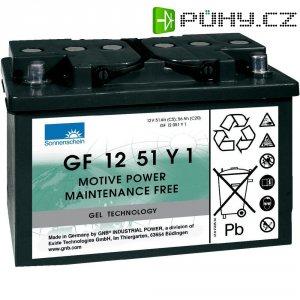 Gelový akumulátor, 12 V/51 Ah, Exide Sonnenschein GF-Y-1 8889766400
