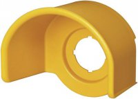 Ochrana tlačítka nouzového tlačítka, (Ø x v) 78 mm x 50 mm Eaton M22-XGPV, žlutá, 1 ks