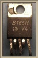 B165H - výkonový OZ, TO220