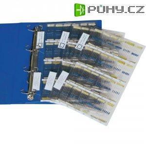 Metalizovaný rezistor COCCR-70, 1 %, axiální vývody, 0,6 W, 0,6 W, 1 %, 730 Parts