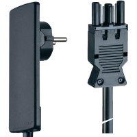 Připojovací kabel Schulte Elektrotechnik, síťová zástrčka, GST 18 zásuvka, 1,5 m, 151000152100