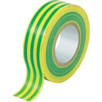 Izolační páska SW10-157, 19 mm x 10 m, žlutozelená