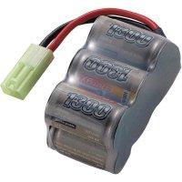Akupack NiMH (modelářství) Conrad energy 206628, 7.2 V, 1300 mAh