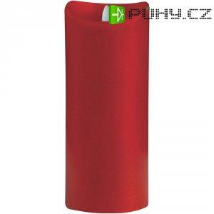 Svítící LED svíčka, červená