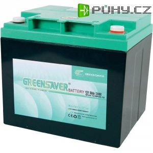 Olovo-silikon akumulátor, 12V/50 Ah, Greensaver SP50-12