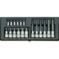 18dílná sada nástrčných klíčů a bitů inbus Proxxon Industrial 23 100