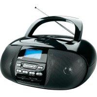 DAB+ rádio Dual DAB 43, FM, USB/SD/CD, černá
