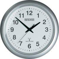 Analogové DCF nástěnné hodiny Eurochron EFWU 4600, Ø 325 x 45 mm, hliník, bílá