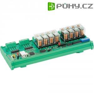 USB karta s 8 relé Hygrosens CON-REL8HV-USB