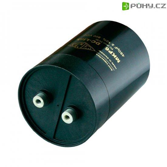 Foliový kondenzátor MKP Wima polypropylen DCP6N06550E100KS0F, 550 µF, 900 V, 10 %, 132 x 85 mm - Kliknutím na obrázek zavřete