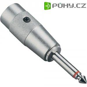 Redukce jack (M) 6,3 mm / XLR (M)