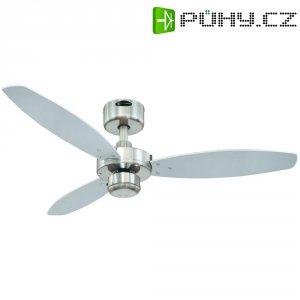 Stropní ventilátor Westinghouse Jet 1, Ø 105 cm, wenge+stříbrná/nikl