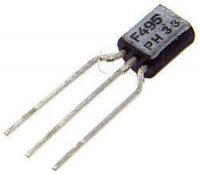 BF495 N 20V/30mA 0,3W 120MHz TO92