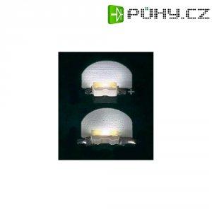 SMD LED speciální Everlight Opto, 99-113UTC/710/TR8, 20 mA, 3,5 V, 110 °, 500 mcd, bílá